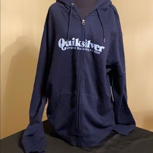 QuikSilver Men's Zip Up Hoodie